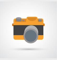 camera symbol vector image