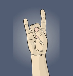 handsign13 vector image
