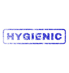 Hygienic rubber stamp vector