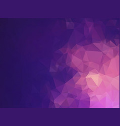 purple mosaic triangle pattern vector image