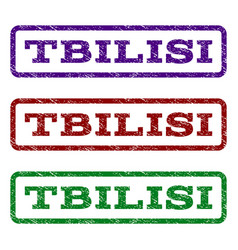 Tbilisi watermark stamp vector