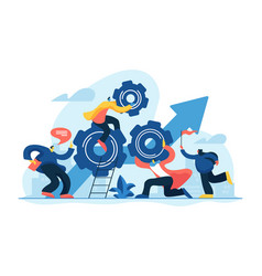 Teamwork power concept vector