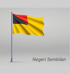 Waving flag negeri sembilan - state vector