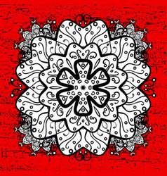 White pattern oriental ornament white pattern on vector