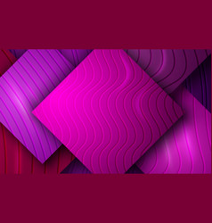 background with plastic relief tiles vector image