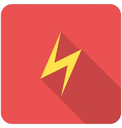 Lightning icon vector
