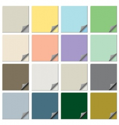 paper notes collection vector image