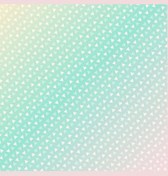 seamless triangle pattern background green vector image