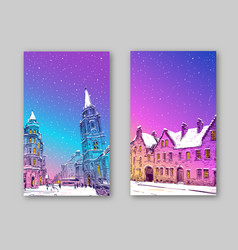 trendy cover template edinburgh scotland vector image