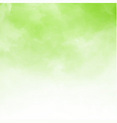 white cloud detail on green natral background and vector image