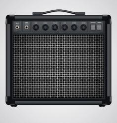 guitar combo vector image