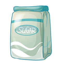 A pack of sugar vector image