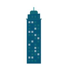 building urban skyscraper construction vector image
