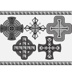 cross2 vector image