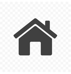 Home icon mobile app and web site start main page vector