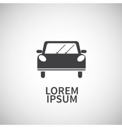 Icon flat element design car vector