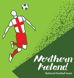 Northern Ireland 4 vector image