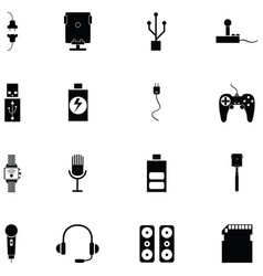 phonec accessories icon vector image