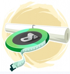 tap and plan paper vector image