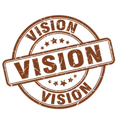 Vision stamp vector