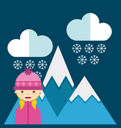 weather condition design vector image