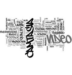 what is camtasia text word cloud concept vector image vector image