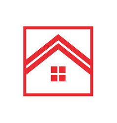 red house box vector image vector image
