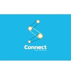 Abstract connect logo Company logo Concept logo vector image