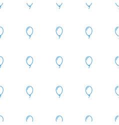 balloon icon pattern seamless white background vector image