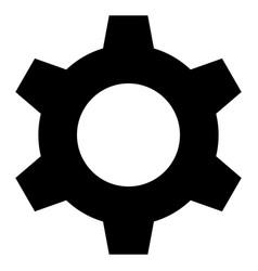 Cog - icon vector
