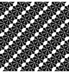 Design seamless monochrome lace decorative pattern vector