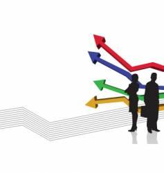Graph stripe vector