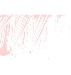 Grunge texture distress pink rough trace fabulou vector