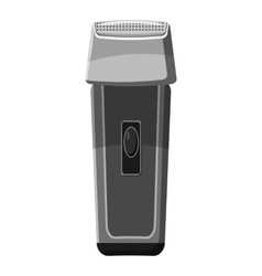 Hair clipper icon gray monochrome style vector
