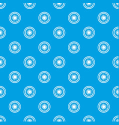 lock from safe pattern seamless blue vector image