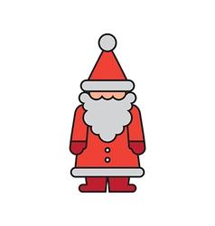 Santa Color Figurine vector image