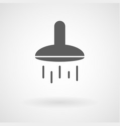 simple shower icon vector image