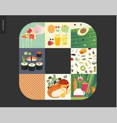 Simple things - meal vector