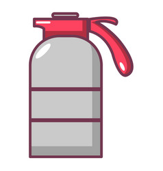 sprayer container icon cartoon style vector image