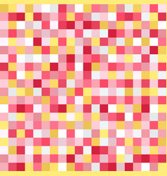 Square pattern pixel seamless background vector