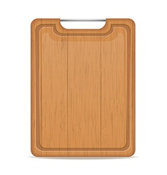 cutting board 06 vector image vector image