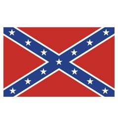 Confederate Rebel Flag vector image