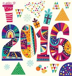 2016 artistic background design vector