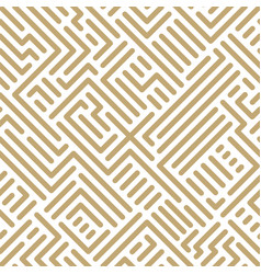 abstract seamless geometric pattern - striped vector image