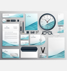 Big set professional brand identity business vector