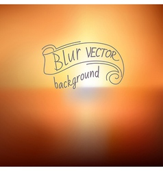 blur9 vector image