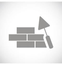 Building black icon vector image