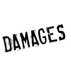 Damages rubber stamp vector image