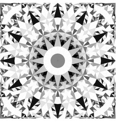 Grey seamless abstract triangle mosaic vector