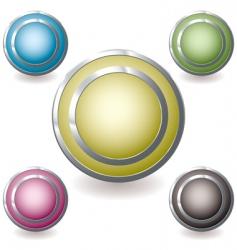 web icon variation glow vector image vector image